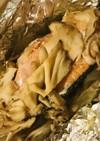 オーブンで仕上げる●鮭切り身のホイル焼き