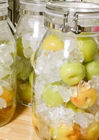 これこれ♪我が家の梅シロップ 梅ジュース