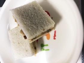 離乳食おいもサンドイッチ