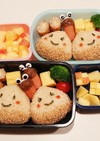幼稚園(年長)双子のお弁当1