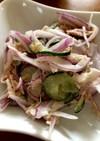玉ねぎとツナのサラダ