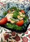 パクチーとエビの簡単エスニックサラダ