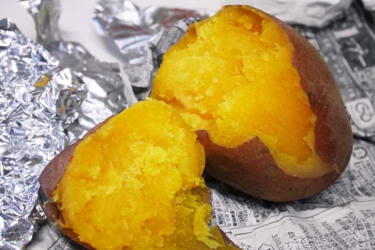 焼き芋 アルミ ホイル
