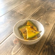 トースターで簡単★かぼちゃの山椒チップスの写真