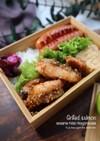 お弁当に!鮭の胡麻味噌マヨネーズ焼き