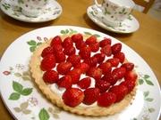 サクサク♡苺のタルトの写真