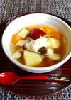 さつま芋・エリンギの簡単コンソメスープ♡