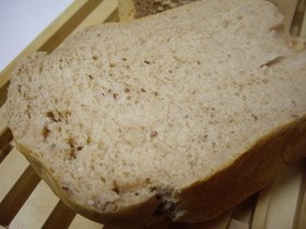 早焼き!米粉入り☆きなこあずき食パン