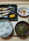 朝食♥️和食【ハタハタ焼き】