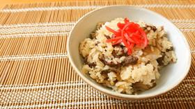 【使い切り】レンチン!牛ごぼうご飯