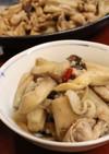 夕食弁当♪塩麹豚肉エリンギ蓮根の炒め煮