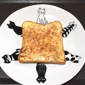 あかりと粉チーズのトースト