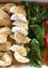 野菜たっぷり☆鶏胸肉の油淋鶏☆FU