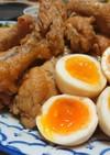 鶏手羽元と卵の甘辛さっぱり煮