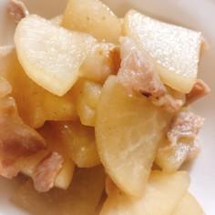 大根と豚バラのこっくり煮