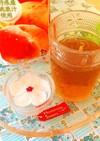 渋くない☆市販ジュースでフルーツティー♪