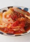 タラとじゃがいものトマト煮