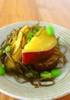 さつま芋と昆布の煮物