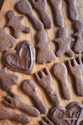 ココアオイルクッキー