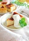 カルピスとお豆腐のベイクドチーズケーキ。