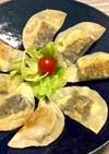 鮭フレーク&チーズ☆餃子の皮で半月焼き