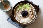 驚きの組み合わせ!タピオカミルクティー鍋の写真