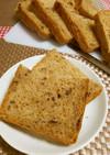 ★HBで美味しいレーズンくるみ黒糖パン♪