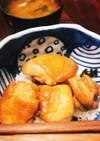 鶏の甘辛照り焼き丼