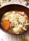 冷凍里芋とささがきごぼう水煮で簡単豚汁〜