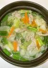 豚肉白菜のスープ♪簡単