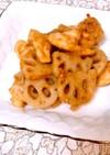 ♡鶏ささみとレンコンと里芋のピリ辛炒め♡
