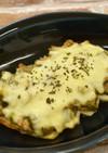 めかぶとちくわのチーズ焼き