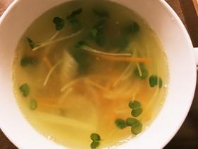 ♪生姜でぽかぽか野菜スープ♪