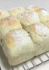 ポリ袋でライ麦くるみチーズちぎりパン♪