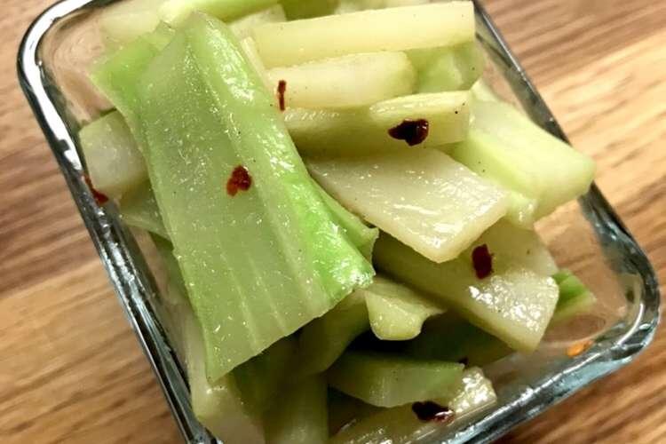 レシピ ブロッコリー 茎