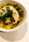 ※丸美屋わかめで餃子スープ※