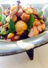 薬膳★しめじと栗と銀杏の秋煮物