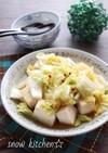 豆腐と白菜のあったかレンジ蒸し