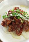 カリカリ豚とれんこんの温製サラダ