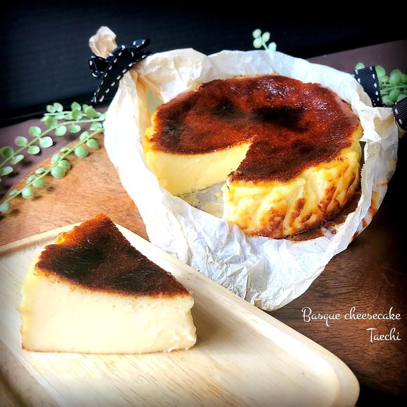 超簡単バスクチーズケーキ
