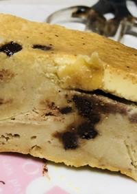 困ったクッキーとりんごのケーキ