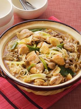 サッポロ一番 鶏もやしみそ生姜なべ