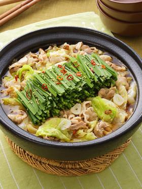 サッポロ一番 もつ鍋風豚バラなべ