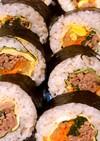 簡単★韓国風のり巻キンパ お弁当にも♬
