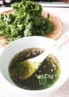 和食にも焼肉にも◎簡単あおさスープ