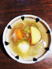 根菜のお味噌汁★☆さつまいもバージョン。の写真