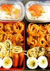 簡単パスタ弁当☆食べやすいスパゲティ