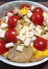 豚玉丼サラダチキントマトミックス