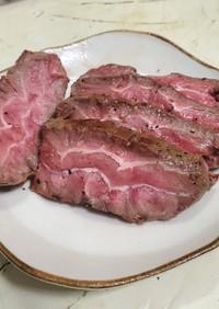 フライパン+オーブンでローストビーフ