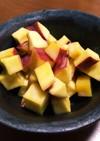 レンチン簡単♪サツマイモのカルピス煮